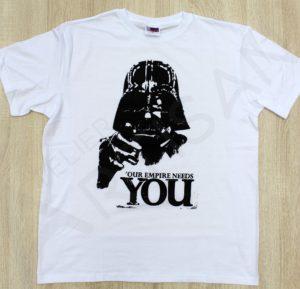 принт на футболке Дарт Вейдер